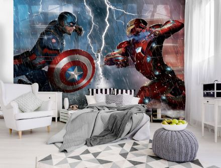 Marvel Civil War photo wallpaper mural